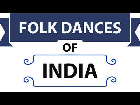 Folk Dances of India - Static General Knowledge