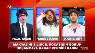 Gambar cover Eşini Makyajsız Gören Adam - Fazıl Taşar ile Adam Haber | 3 Adam