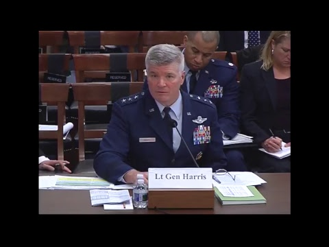 20180315 Fiscal Year 2019 Budget Request on Air Force Airborne ISR Programs (ID: 107979)