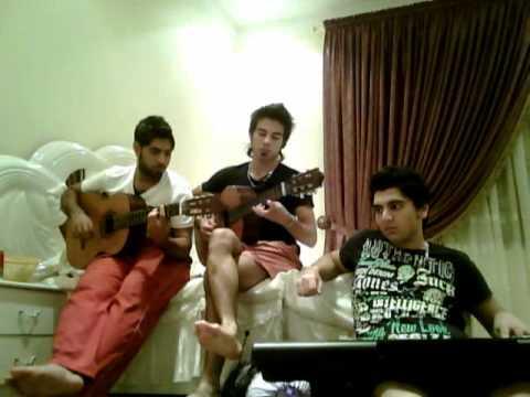 reza sadeghi (chavoshi & yeganeh_  nashkan delamo ) persian guitar by mohsin waahedi