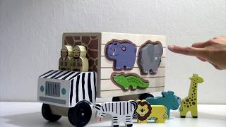 Wooden Toy - Animal Truck By Melissa And Doug