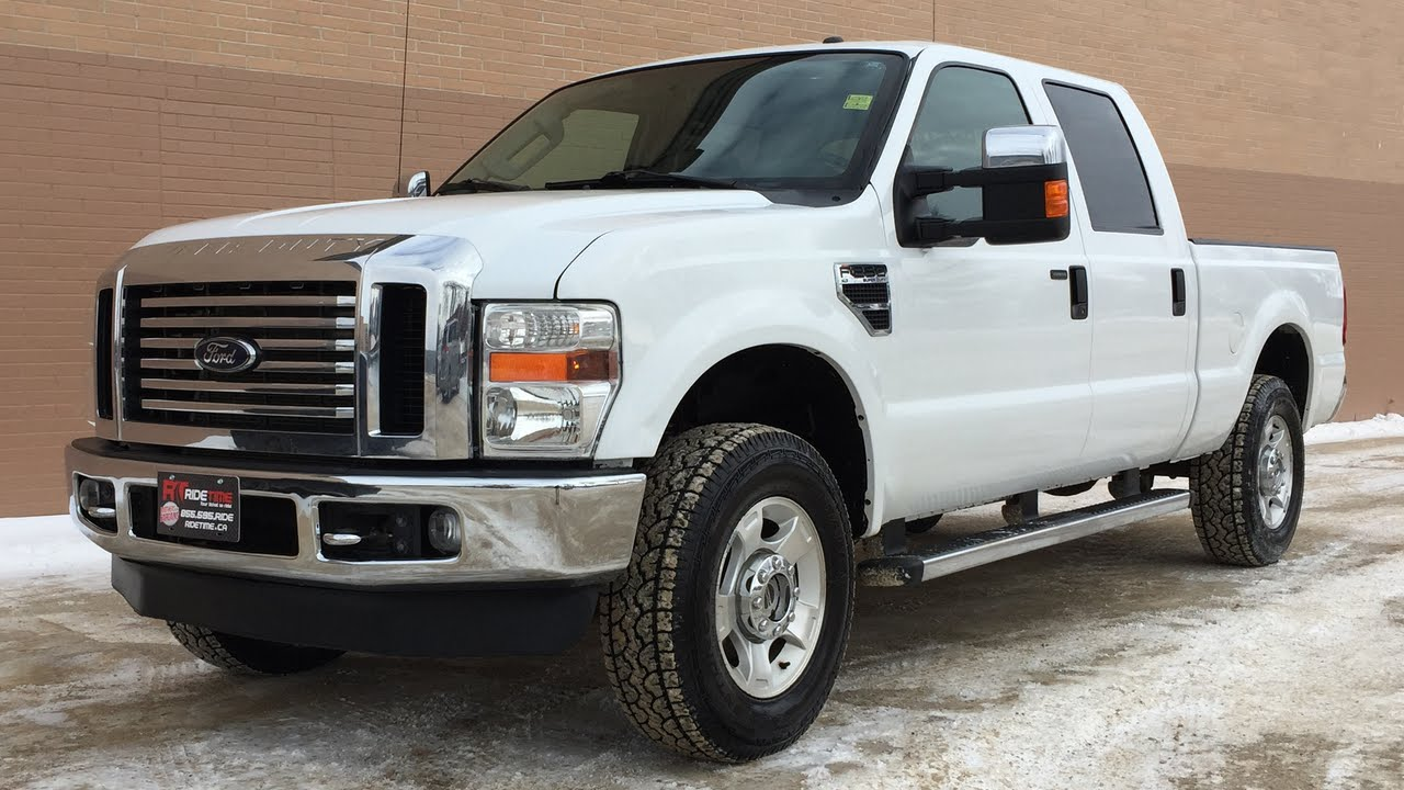 Ford F  Super Duty Xlt Wd Crew Cab Running Boards Power Tow Mirrors Huge Value Youtube