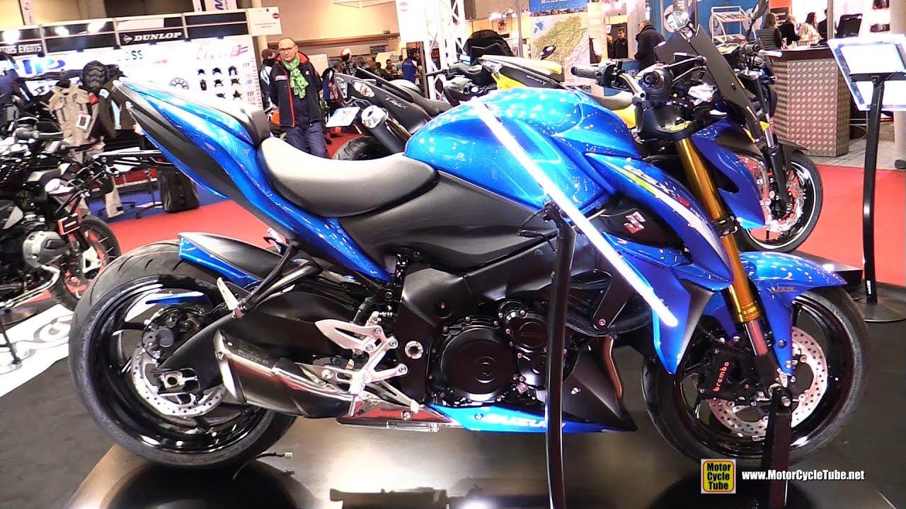 2016 suzuki gsxs 1000 customized by ermax walkaround for Salon moto paris 2017