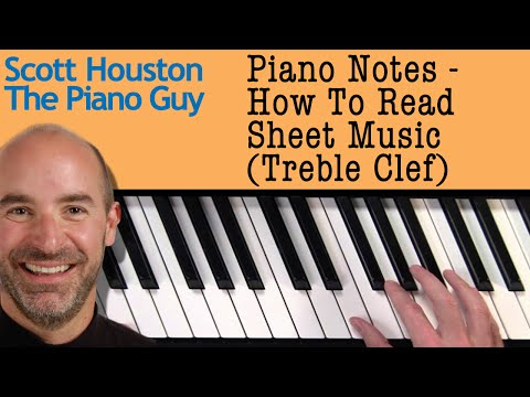 Piano Notes - How to Read Sheet Music