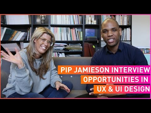 Pip Jamieson Interview - Building The Dots & Opportunities in UX & UI Design 😀