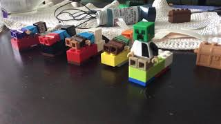 Lego minecraft the beds are a lie