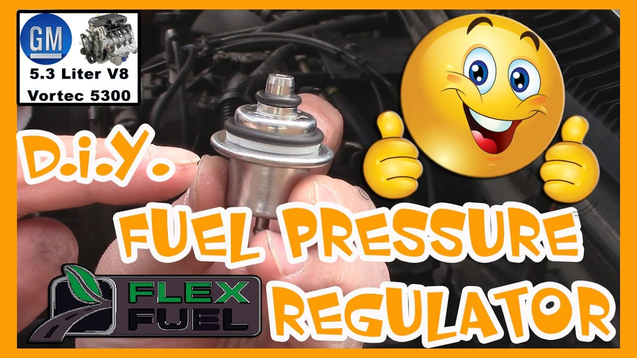 How To Replace A Fuel Pressure Regulator On 53 Gm Flex Youtube Troubleshooting