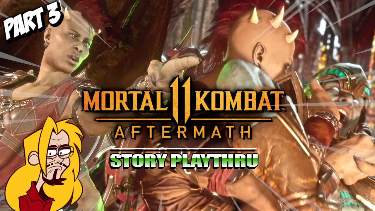 Sheeva Gonna Give It To Ya: MK11 Aftermath Story - Part 3