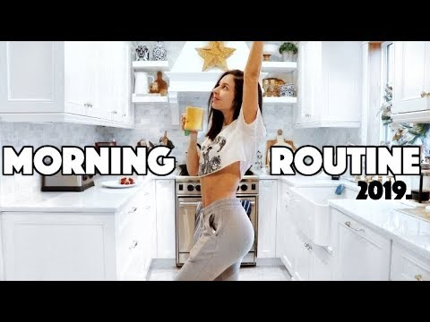 MORNING ROUTINE 2019 | Healthy & productive + Fitness | Chelsea Trevor image