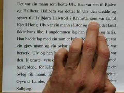 Norwegian Nynorsk: Languages of the World: Introductory Over