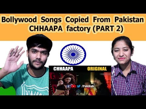 Indian reaction on Bollywood Songs Copied From Pakistan | Chapa Factory Part 2 | Swaggy d