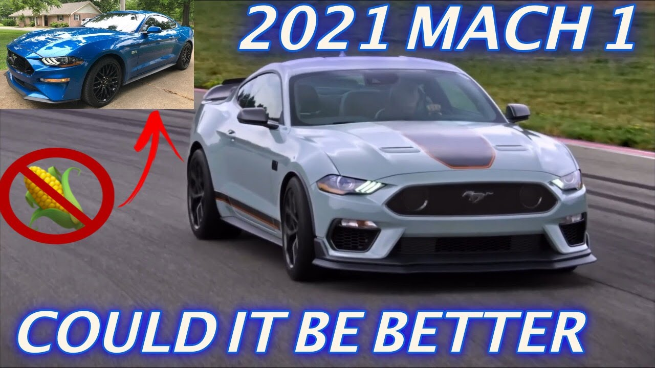 Back on 93 octane in my 2020 Mustang & My thoughts on the 2021 Mach 1