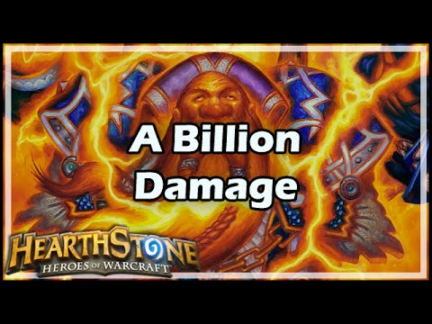 [Hearthstone] A Billion Damage