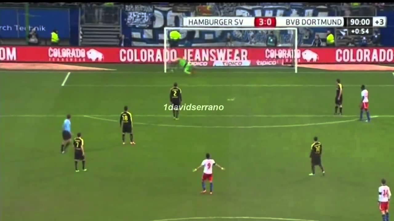 Goal Hakan Calhanoglu 3 0 Borussia Dortmund free kick Goal HD 22 ...