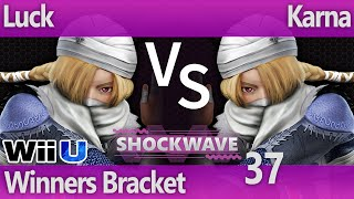 SW 37 Wii U - Luck (Sheik) vs Karna (Sheik) - Winners Bracket