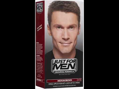 Just For Men Shampoo In Hair Color, Medium Brown - YouTube
