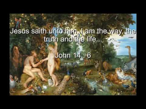 The fall of man in Paradise at the eighth day of creation !!