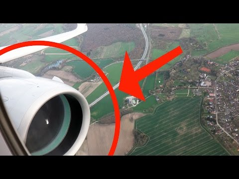 HUGE B777-style looking Engine on A320! BRAND NEW A320neo, SUPER SILENT Geared Turbofan [AirClips]