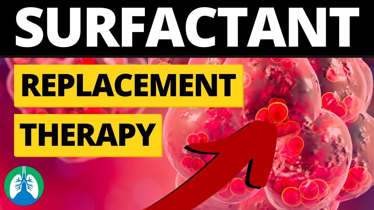 Surfactant Replacement Therapy (Medical Definition) | Quick Explainer Video