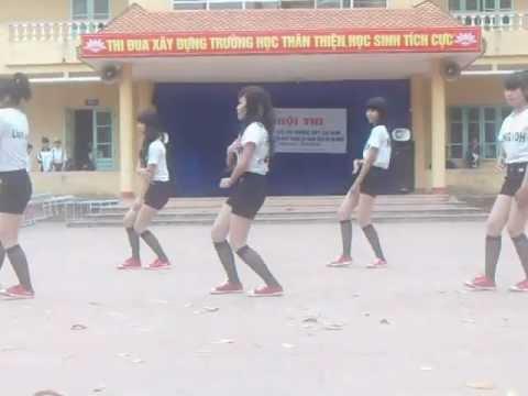 thi nhảy của lớp 10a13 thpt lục nam - nguồn hiepkun_banbun