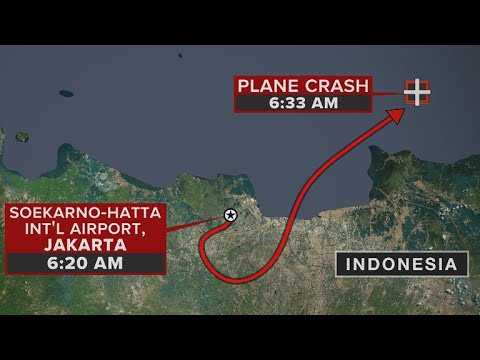 Lion Air Plane With 189 Passengers Crashes In Indonesia