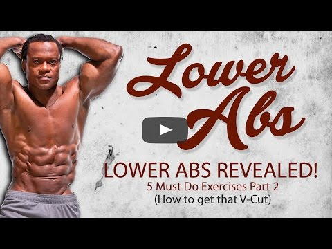 Lower Abs Revealed Top 5 Exercises (Part 2)