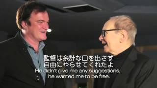 巨匠モリコーネとの仕事にタランティーノ感激!『ヘイトフル・エイト』特別映像