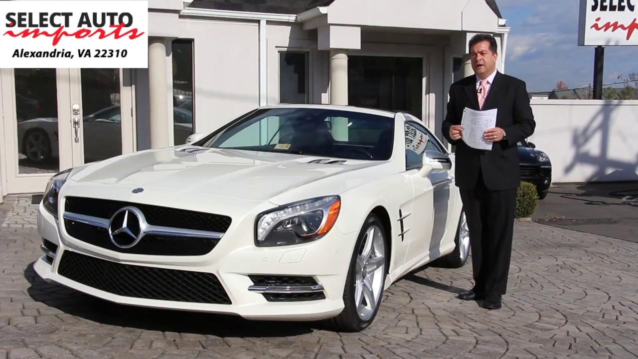 2015 Mercedes-Benz SL400 , Designo Diamond White, Select ...