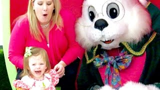 HILARIOUS EASTER BUNNY REACTION!