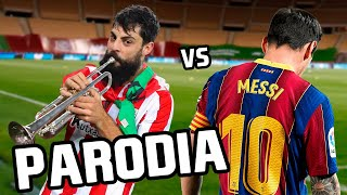 Canción Barcelona vs Athletic Bilbao 2-3 (Parodia Bandido - Myke Towers)
