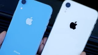 Apple iPhone XR: White or Blue?