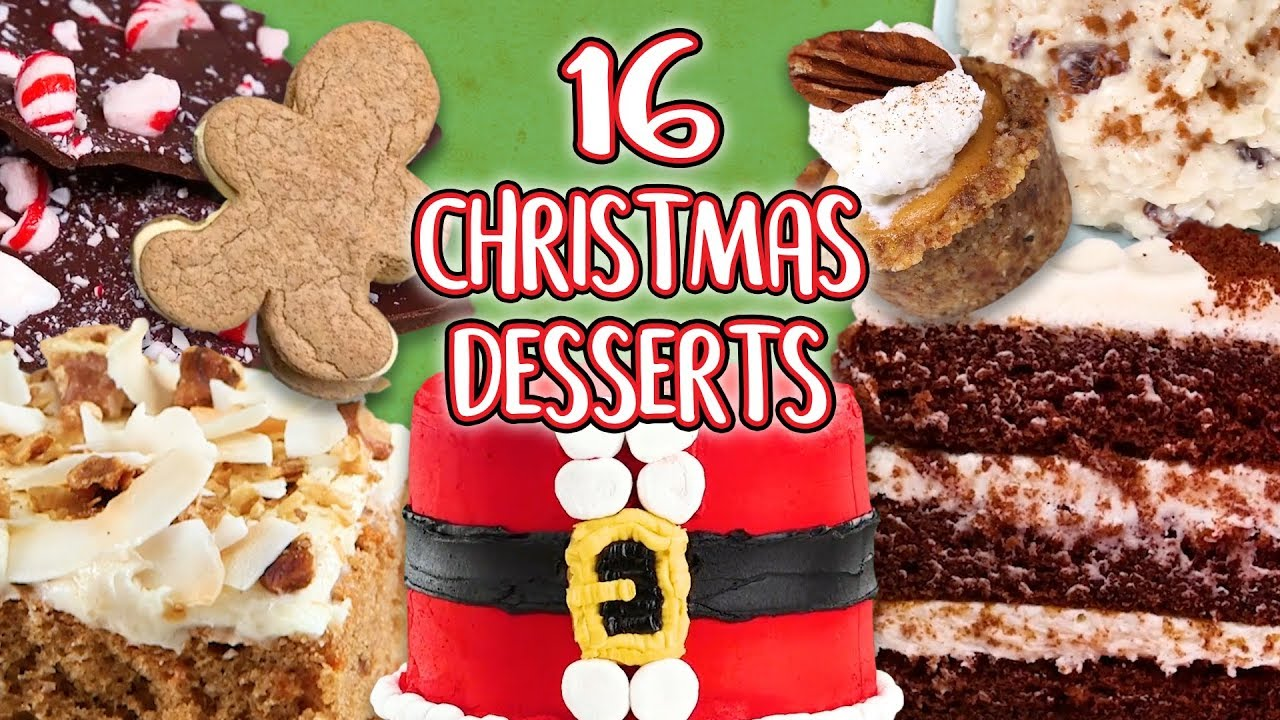 16 Christmas Desserts | Epic Recipe