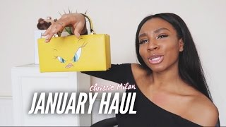 NEW YEAR GLO UP MEGA-HAUL | ZARA, TOPSHOP, H&M, RIVER ISLAND + MISSGUIDED,