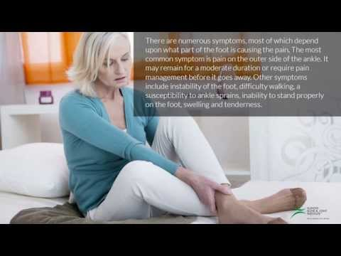 Chronic Lateral Foot Pain - Symptoms, Causes and Treatments