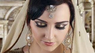 bronze smokey eye makeup tutorial indian asian pakistani bridal makeup tutorial