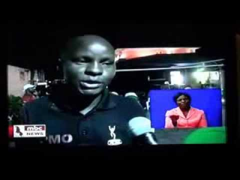 TV Malawi report on Agorosso's CD launch