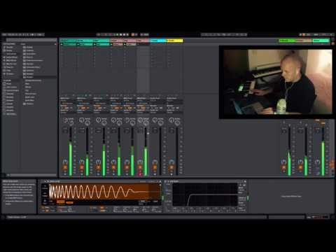 Ableton Live 9.5 - Making a track idea with the new Simpler Device