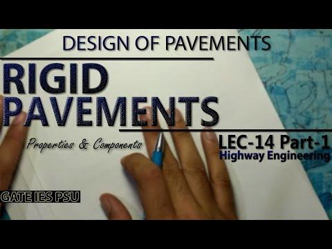 Rigid Pavement | Design Of Pavements | Lec-14 Part-1