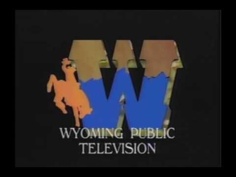 Wyoming Public Television logo (1990-1993)