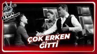 Beyaz, Murat Boz'a Taziyeye Gitti!  | O Ses Türkiye 6. Bölüm
