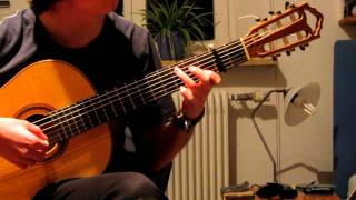 Reinhard Mey - Ich denk, es war ein gutes Jahr auf klassischer  Gitarre (Cover)