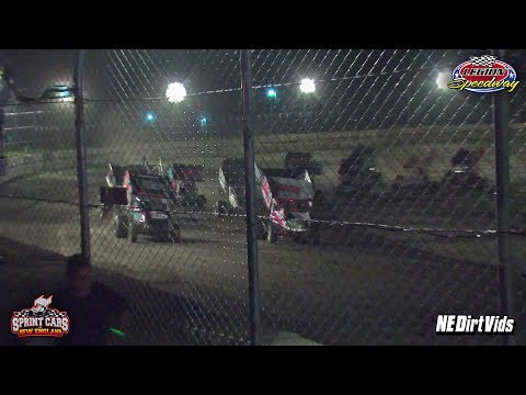 Highlights: Sprint Cars of New England at Legion Speedway 7-21-2017