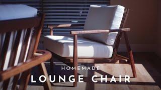 DIY #5   MidCentury Modern Lounge Chair