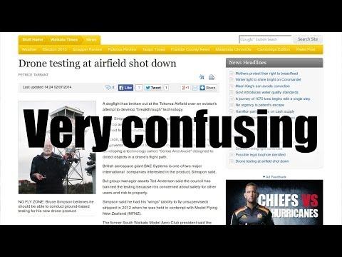 Drone testing at airfield shot down - why am I left so confused?