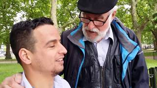Man of God - Encourage Muslim - Speakers Corner Hyde Park London 3-9-17.