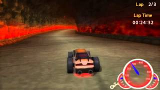 PSP Emulator Test Hot Wheels Ultimate Racing
