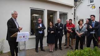Malestroit. L'inauguration de l'Office de Tourisme