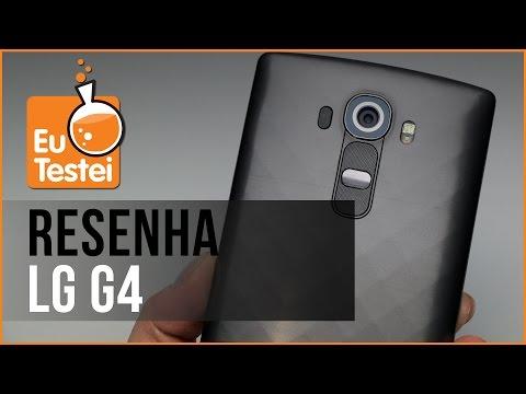 LG G4 H815P Smartphone - Vídeo Resenha EuTestei Brasil