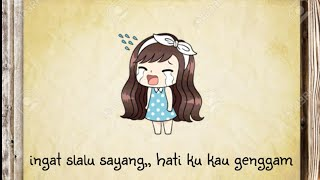 Download lagu Anji - menunggu kamu • lirik animasi