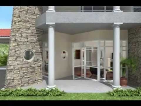 Home entrance design ideas - YouTube